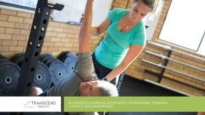 Accredited Exercise Physiology vs Personal Training