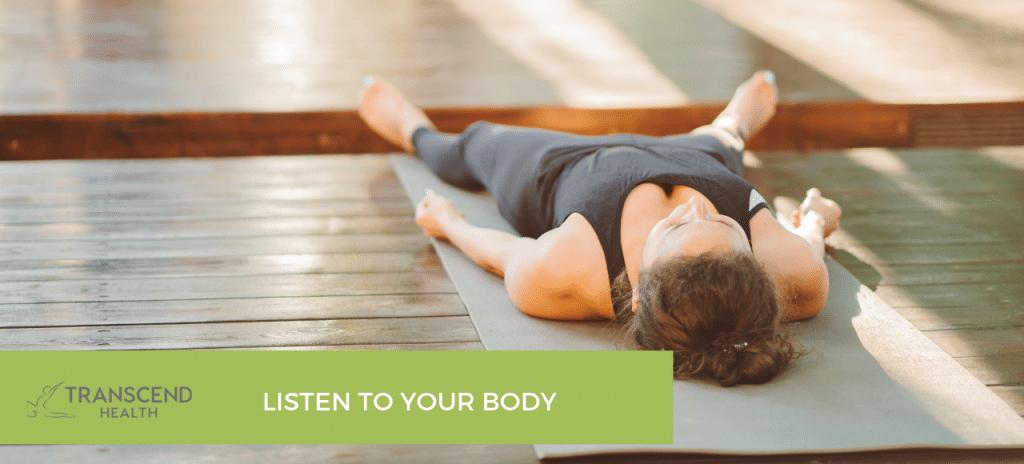exercising when you're sick