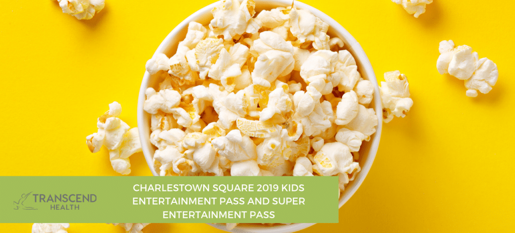 Charlestown Square 2019 Kids Entertainment Pass and Super Entertainment Pass