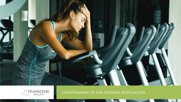 Overtraining in the General Population