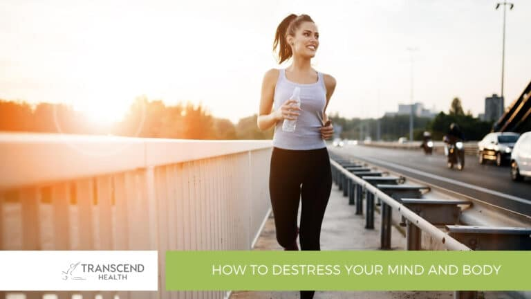 How To Destress Your Mind and Body - Physiotherapist Newcastle - Physiotherapy - Transcend Health