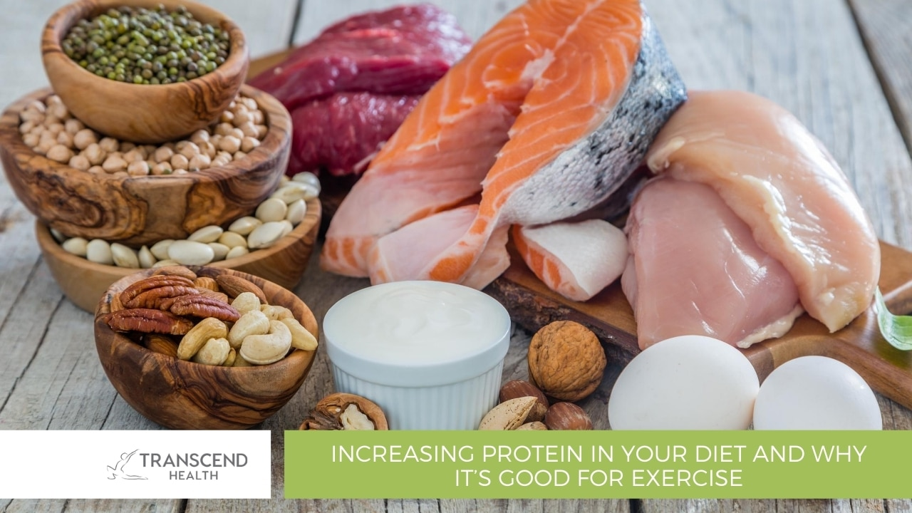 Increasing Protein in your Diet and Why It's Good for Exercise