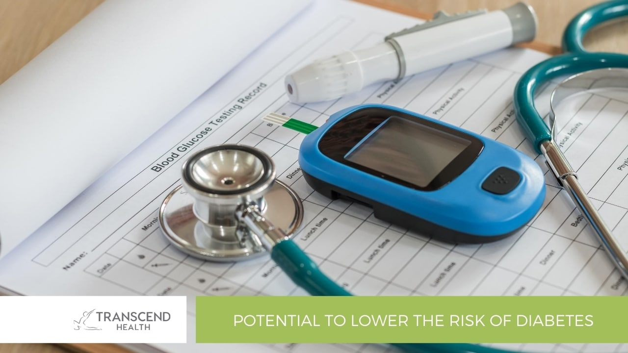 Potential to lower the risk of diabetes