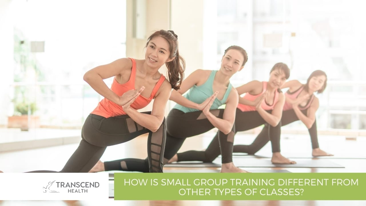 How is small group training different from other types of classes