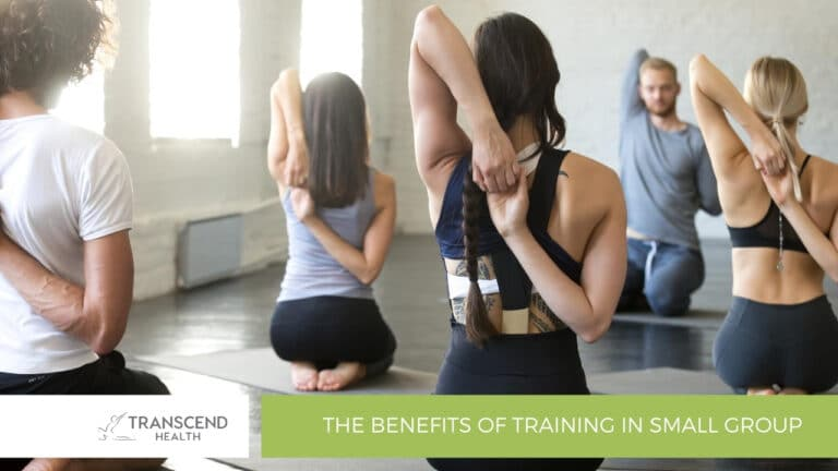 The Benefits of Training in Small Group