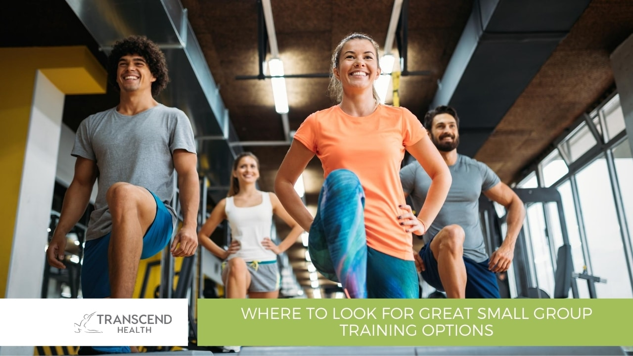 Where to look for great small group training options