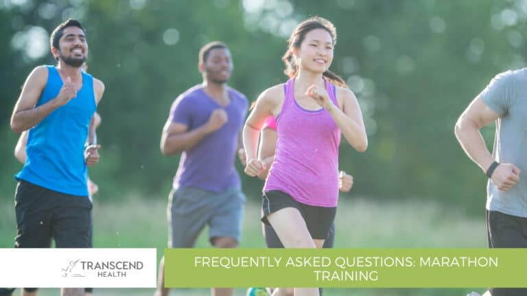 Frequently Asked Questions Marathon Training