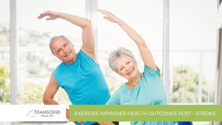 Exercise Improves Health Outcomes Post – Stroke