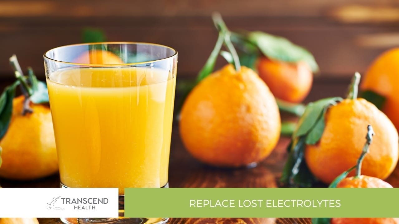 Replace Lost Electrolytes